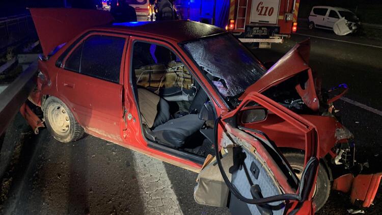 TEM Otoyolu'nda trafik kazası: 2 ölü