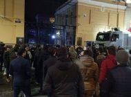 Vatandaşlarımız Rusya yı protesto etti