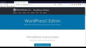 WordPress Kurulumu – cPanel